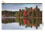 Autumn Nature Lake And Trees Carry-all Pouch