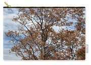 Autumn Oaks White Clouds Carry-all Pouch