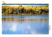 Autumn On Chena Lake L Carry-all Pouch