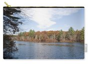 Autumn On Mill Pond Carry-all Pouch