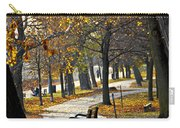 Autumn Park In Toronto Carry-all Pouch by Elena Elisseeva