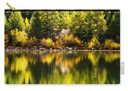 Autumn Reflection In Georgetown Lake Colorado Carry-all Pouch