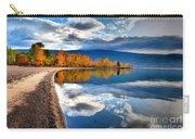Autumn Reflections In October Carry-all Pouch by Tara Turner