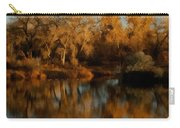 Autumn Reflections Painterly Carry-all Pouch
