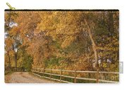 Autumn  Road To The Ranch Carry-all Pouch