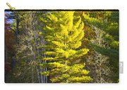 Autumn Scene Of Colorful Trees On The Little Manistee River In Michigan No. 0855 Carry-all Pouch