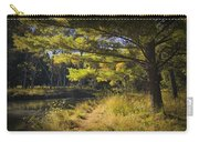 Autumn Scene Of The Little Manistee River In Michigan No. 0882 Carry-all Pouch