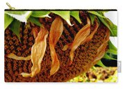 Autumn Sunflower Carry-all Pouch