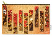 Autumn Sunrise Painterly Abstract Carry-all Pouch