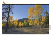 Autumn Sunset In Forest Of Golden Aspen Carry-all Pouch