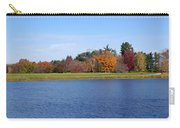 Autumn Trees By The Lake Carry-all Pouch