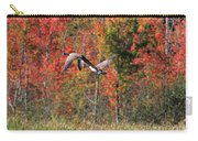 Autumn Vermont Geese And Color Carry-all Pouch