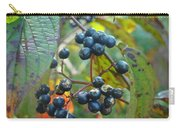 Autumn Viburnum Berries Series #2 Carry-all Pouch