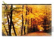 Autumn Walk In Belgium Carry-all Pouch