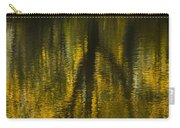 Autumn Water Reflection Abstract I Carry-all Pouch