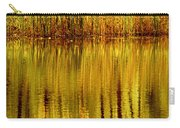 Autumn Water Reflection Abstract II Carry-all Pouch