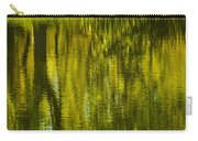 Autumn Water Reflection Abstract IIi Carry-all Pouch