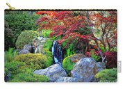 Autumn Waterfall - Digital Art Carry-all Pouch