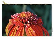 Autumn's Cone Flower Carry-all Pouch