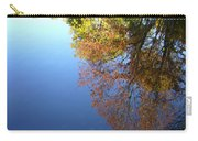 Autumn's Watery Reflection Carry-all Pouch