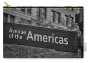 Avenue Of The Americas Carry-all Pouch