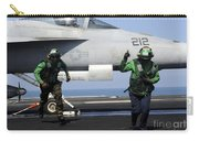 Aviation Boatswain Mates Signal A Clear Carry-all Pouch