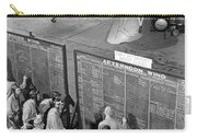 Aviation Cadets Check Flight Boards Carry-all Pouch