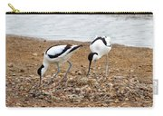 Avocets At Nest Carry-all Pouch