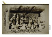 Away In The Manger Carry-all Pouch by Bill Cannon