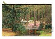 Azaleas And Footbridge Carry-all Pouch