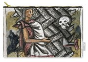 Aztec: Life And Death Carry-all Pouch
