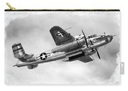 B25 In Flight Carry-all Pouch by Greg Fortier