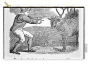 Baa, Baa, Black Sheep, 1833 Carry-all Pouch by Granger