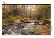 Babbling Brook In Autumn Carry-all Pouch