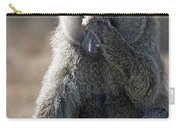 Baboon With Headache Carry-all Pouch