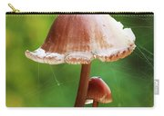 Baby And Parent Mushroom Carry-all Pouch