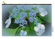 Baby Blue Lace Cap Hydrangea Carry-all Pouch