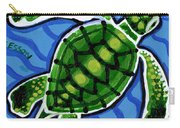 Baby Green Sea Turtle Carry-all Pouch