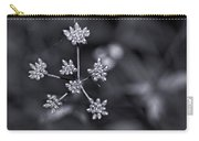 Baby Queen Anne's Lace Monochrome Carry-all Pouch