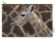 Baby Rothschild Giraffe  Carry-all Pouch