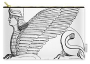 Babylonian Sphinx Carry-all Pouch