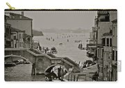 Back Door Of Venice Carry-all Pouch