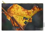 Back-lit Golden Leaf Carry-all Pouch