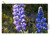 Back Lit Lupine Carry-all Pouch