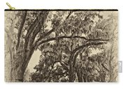 Back To The Future Antique Sepia Carry-all Pouch