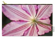 Backlit Clematis Carry-all Pouch