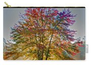 Backlit Maple In Autumn's Light Carry-all Pouch