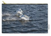 Backlit Swans Carry-all Pouch