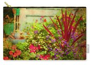 Backyard Flower Garden Carry-all Pouch