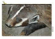 Badger On The Loose Carry-all Pouch
